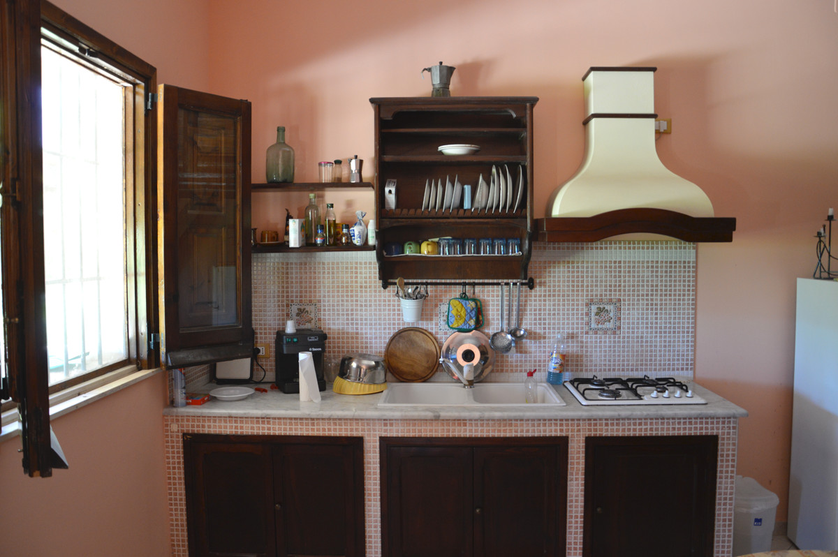 cucina-muratura-siciliana - CaseVacanzaAvola.it